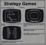 Video Game: Strategy Games, CS-3005