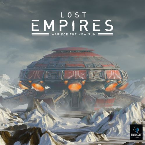 Board Game: Lost Empires: War for the New Sun
