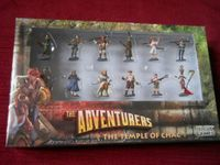 Board Game Accessory: The Adventurers: The Temple of Chac – Pre-Painted Miniatures