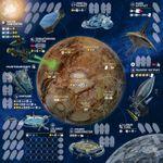 Board Game Accessory: Alien Frontiers: 4th Edition Board