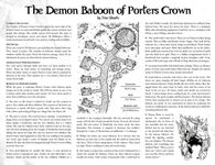 RPG Item: The Demon Baboon of Porters Crown