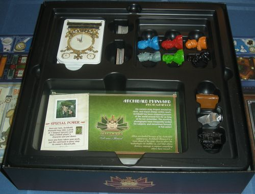 Board Game: Mystery Express