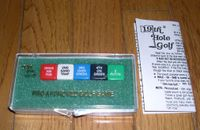 Board Game: 19th Hole Golf