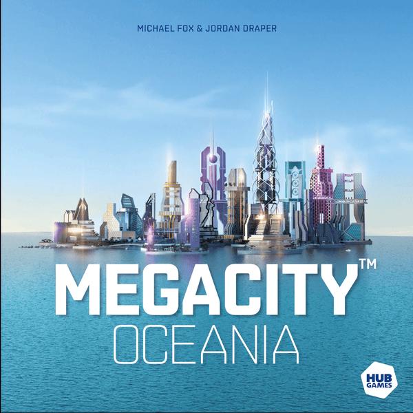 MegaCity: Oceania Cover