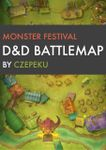 RPG Item: Monster Festival D&D Battlemap
