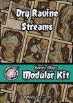 RPG Item: Heroic Maps Modular Kit: Dry Ravine Streams