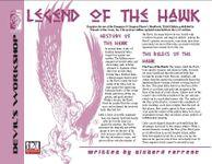 RPG Item: Legend of the Hawk
