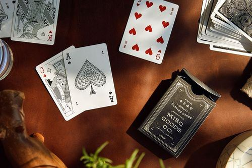 Misc Goods Co decks of playing cards