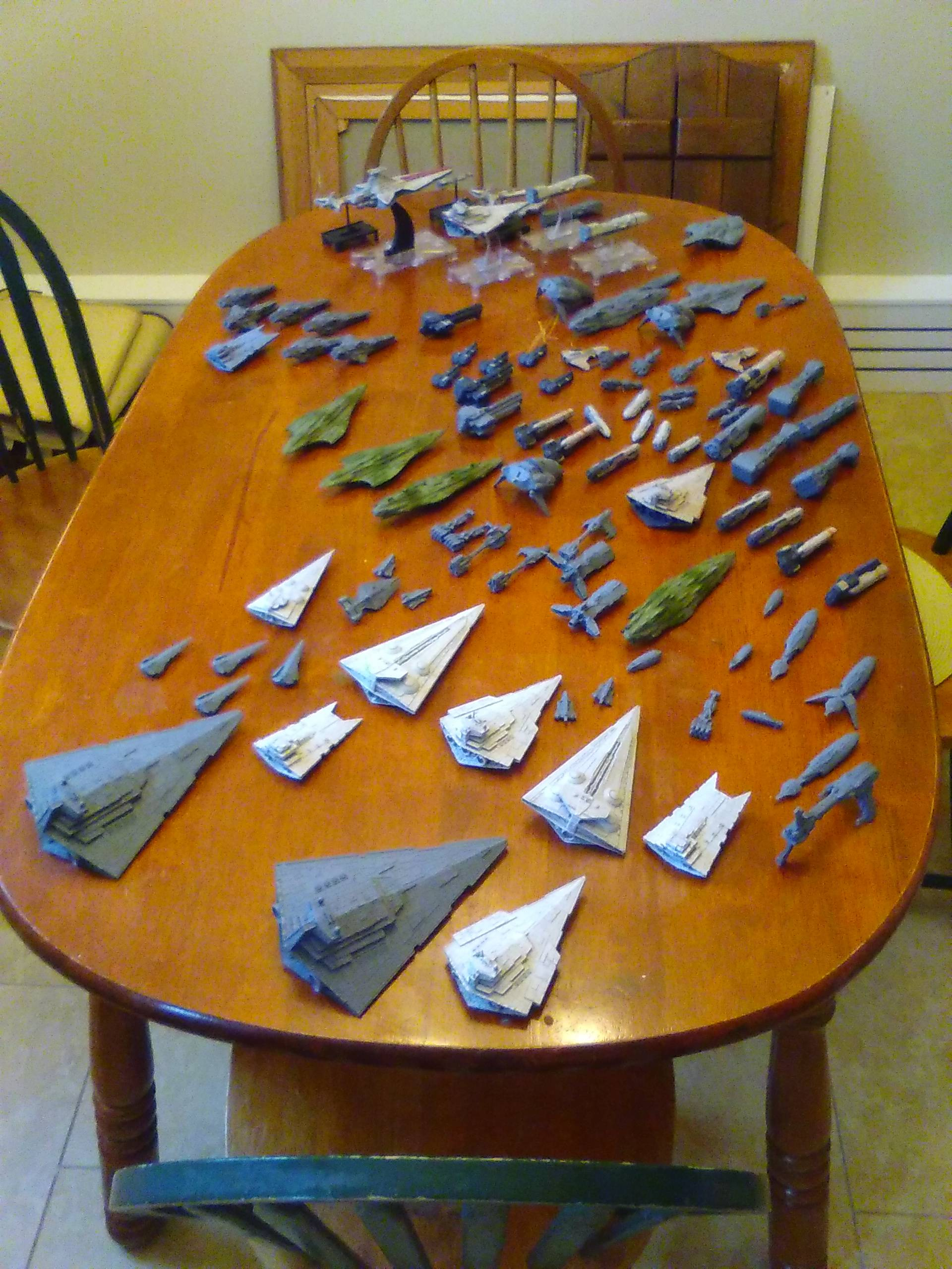 Mel Miniatures: Custom 3D Printed Ships and Squadrons (Check first