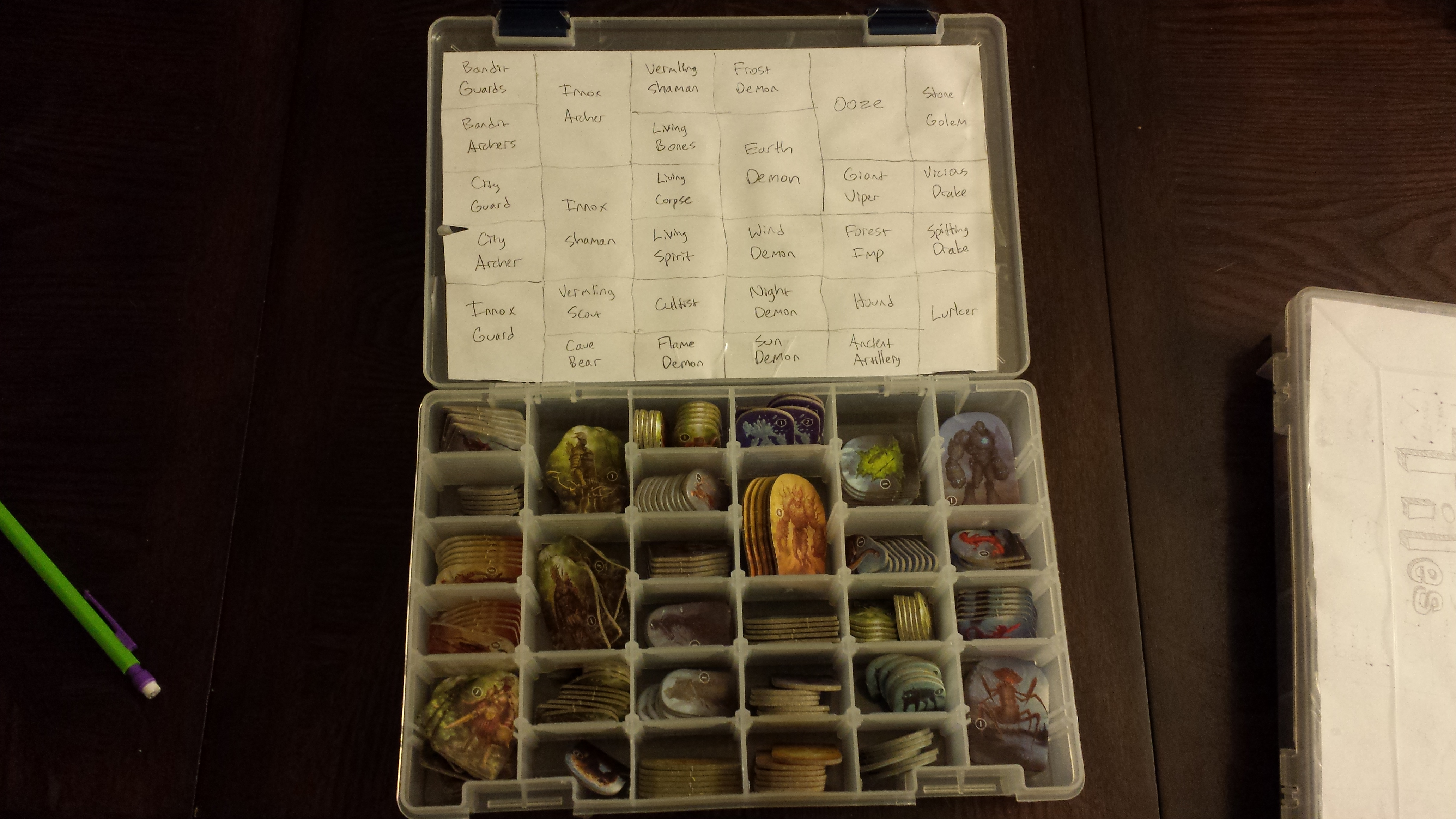 Y A S S (Yet Another Storage Solution) | Gloomhaven