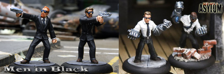 Rebel Minis Launches 28mm scale Red Ops 5: Asylum Kickstarter