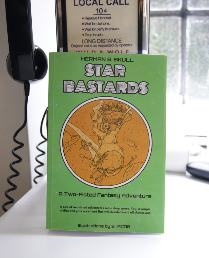Star Bastards - A two-fisted sci-fi adventure gamebook | Crowdfunding