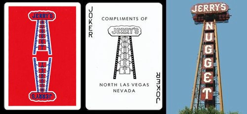 Jerry's Nugget Playing Cards
