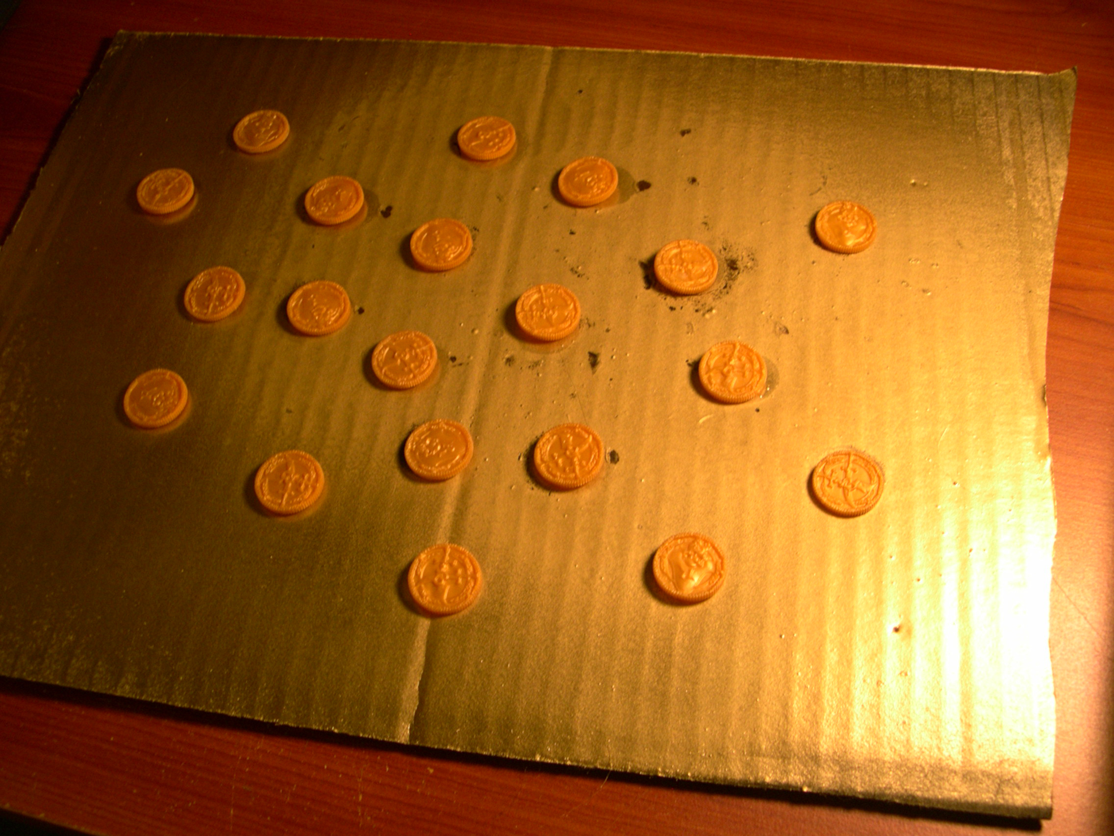 How To Make Your Plastic Coins Look