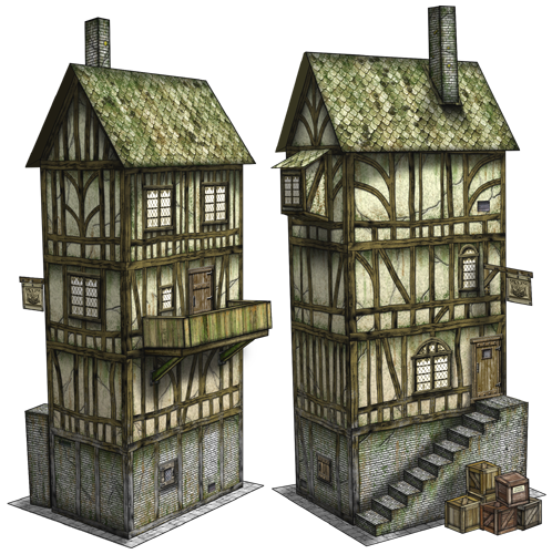 Dave Graffam Models releases new papercraft terrain for wargaming