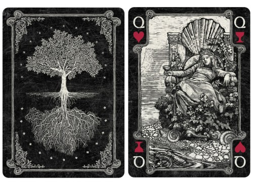 Arcana playing cards