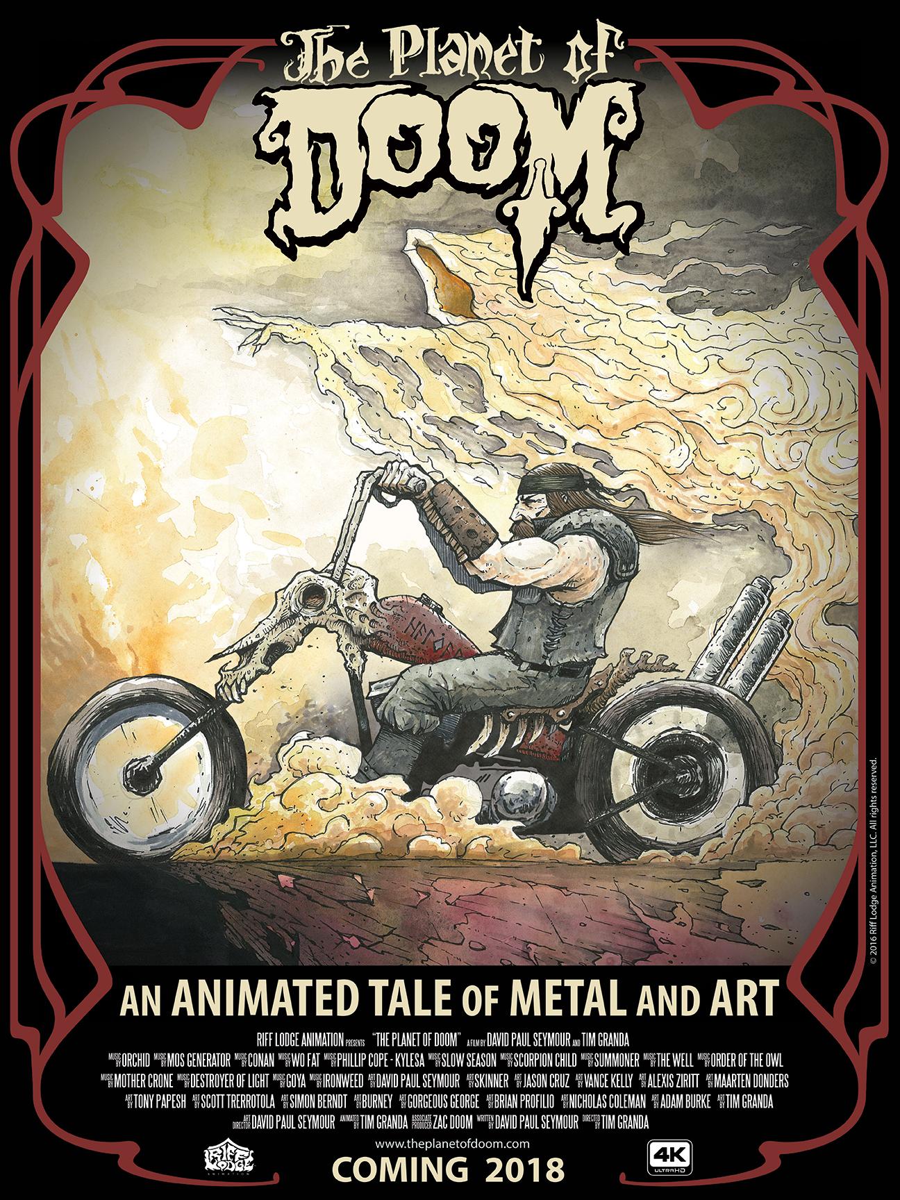 The Planet of Doom kickstarter | The Secret Cabal