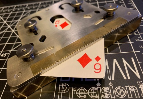 playing card gaff tool