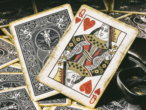 1900 Series playing cards