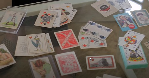 collector playing cards