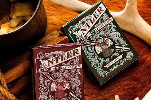 antler playing cards