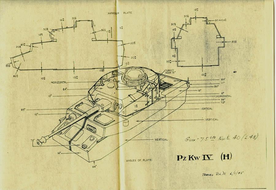 Panzer IV TF armor too high? | Panzer (second edition