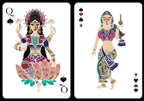 divine are playing cards