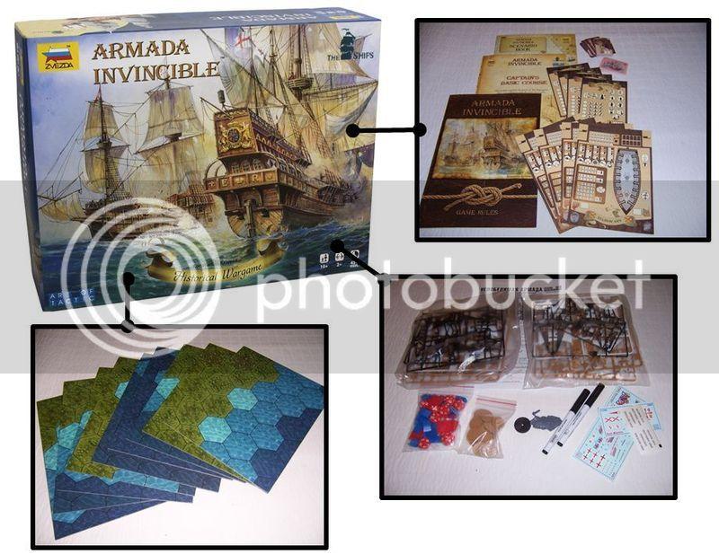 ARMADA INVINCIBLE: A review of Zvezda's game of sailing