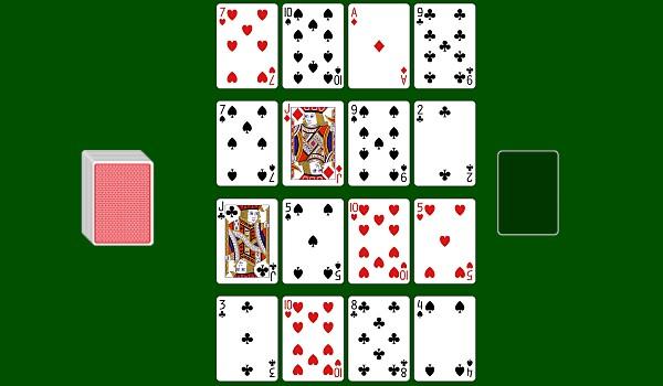 Fifteens solitaire