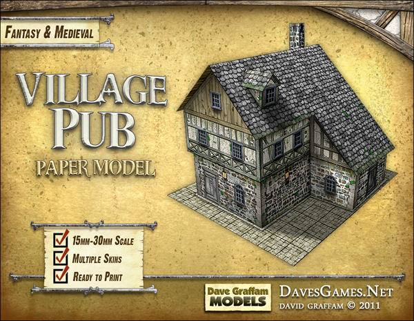 $1 PDF paper model kits until the end of January   BoardGameGeek