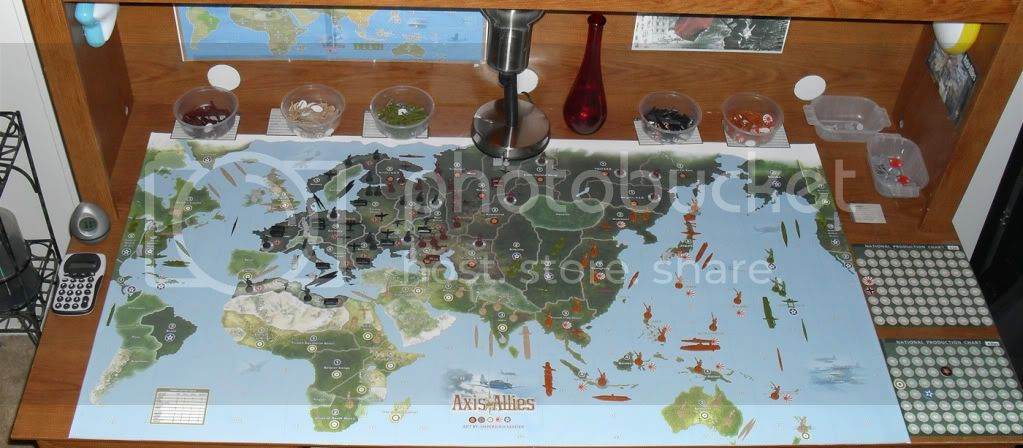 Imperious Leaders Supreme Map | Axis & Allies: 1942