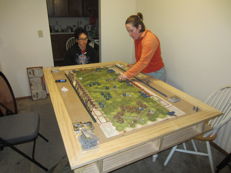 Astonishing Home Built Gaming Table Boardgamegeek Boardgamegeek Download Free Architecture Designs Pushbritishbridgeorg