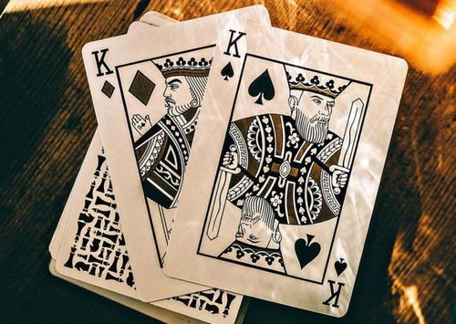 knights playing cards