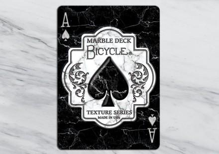 bicycle marble deck
