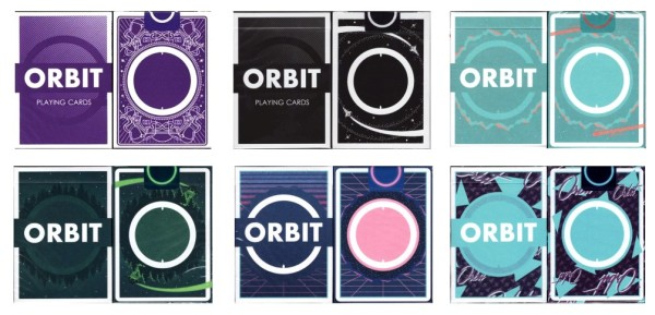 orbit playing cards