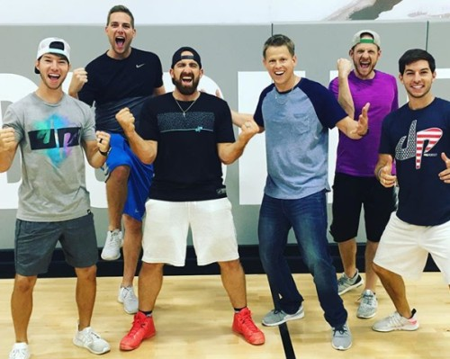 Rick Smith Jr with Dude Perfect