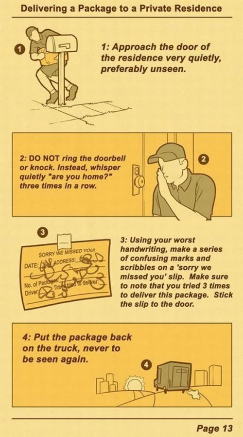 UPS Package Delivery Procedure | BoardGameGeek | BoardGameGeek