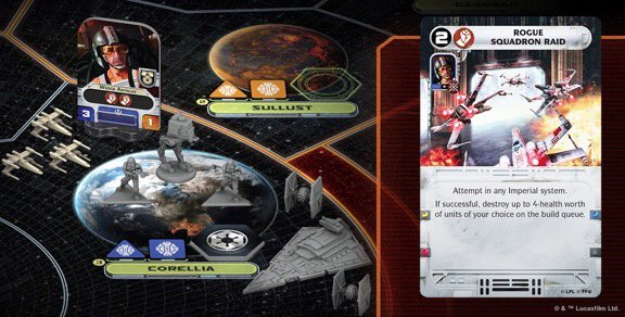 Death Star under Contruction + Rogue Squadron Raid   Star