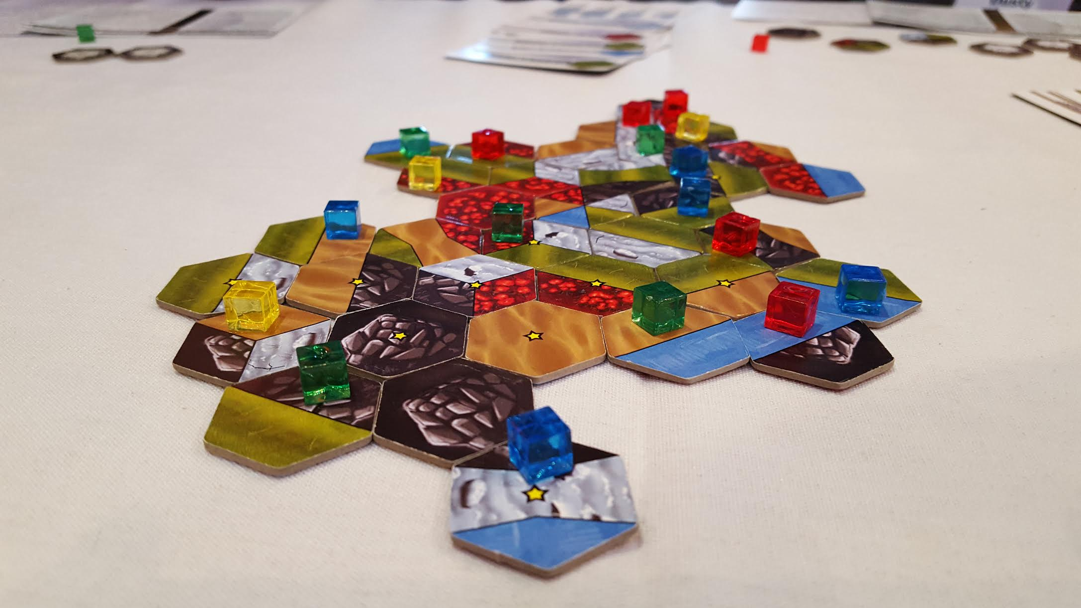 Landed: A Competitive, Terraforming, Tile-Laying Game is now Live