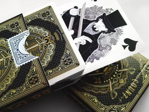 The Count of Monte Cristo plaiyng cards
