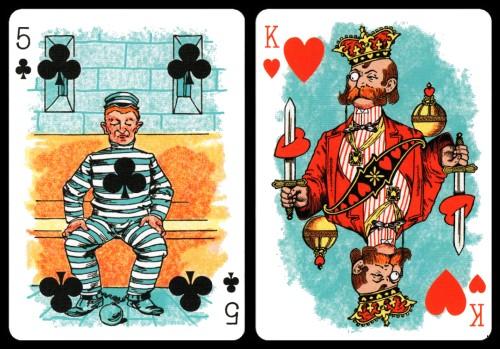 Hustling Joe Playing Cards (1895)