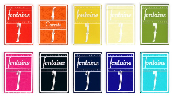 fontaine playing cards
