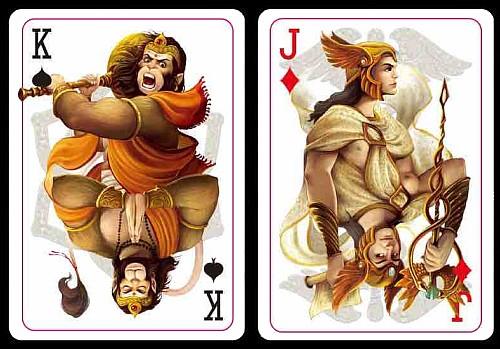 Mythos playing cards