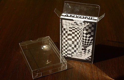 Clear Playing Card Deck Case sleeves