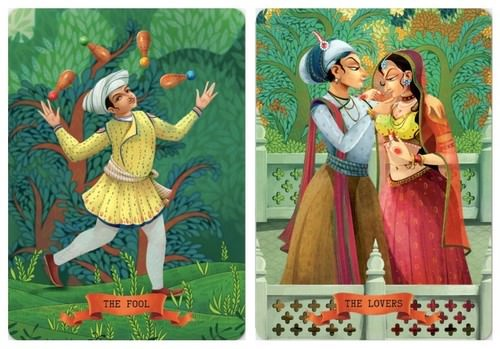 Bharata playing cards