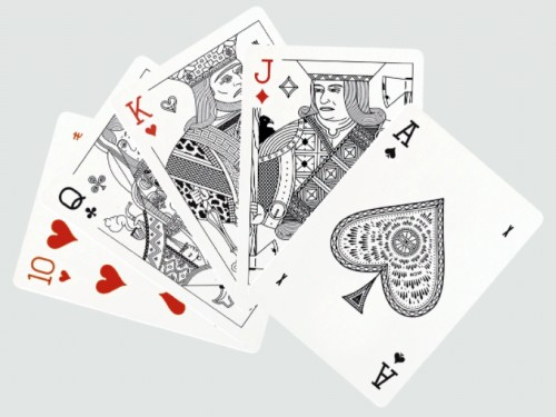 Misc Goods Co playing cards