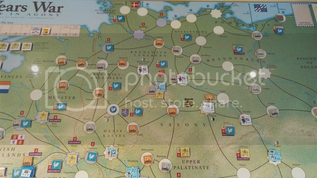 Map Of Germany 30 Years War.Thirty Years War Solo Campaign Game Thirty Years War