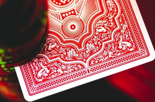 marked deck