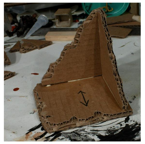 CARDBOARD TERRAIN FOR NOOBS AND THE CRAFTILY CHALLENGED |