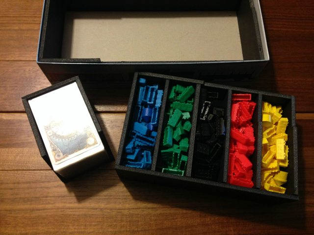 My Newest Foamcore Insert Ticket To Ride Expansions